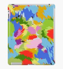 colorful chaotic iPad Case/Skin