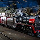 City of Melbourne Steam Train #3 by bekyimage