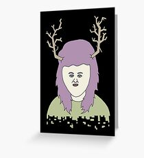 moosegirl Greeting Card
