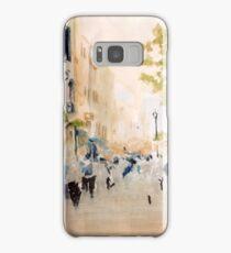 Main street, Gibraltar Samsung Galaxy Case/Skin