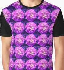 Hydrangea Flower in pink & purple Graphic T-Shirt