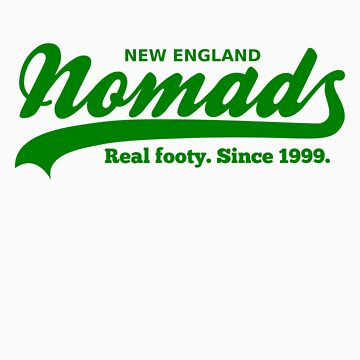Real Footy. Since 1999. (Green) by nomads