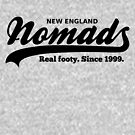 Real footy. Since 1999. (Black) by nomads