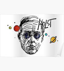 Póster Gustav Theodore Holst