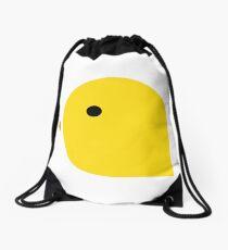 A single chick Drawstring Bag