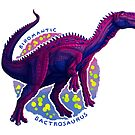Biromantic Bactrosaurus (with text) by R.A.  Faller