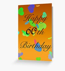 Happy 60th birthday wishes gifts merchandise redbubble happy birthday 60th today greeting card m4hsunfo