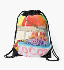 Fruit Vendor Drawstring Bag
