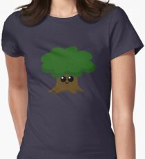 Camiseta entallada para mujer Happy Little Tree