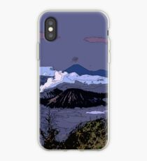Mountains // Comic Style iPhone Case