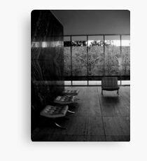 Barcelona Pavilion, Mies van der Rohe Canvas Print