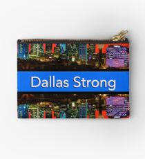 Dallas Strong - Sunset Dallas Skyline Studio Pouch