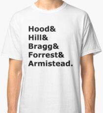 Confederate Generals 2 (black) Classic T-Shirt