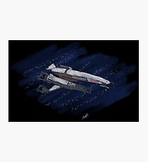 The Normandy: Painted in the Stars Photographic Print