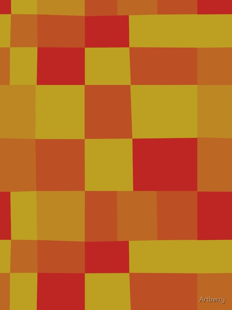 Abstract Color Patchwork Pattern 280913 by Artberry