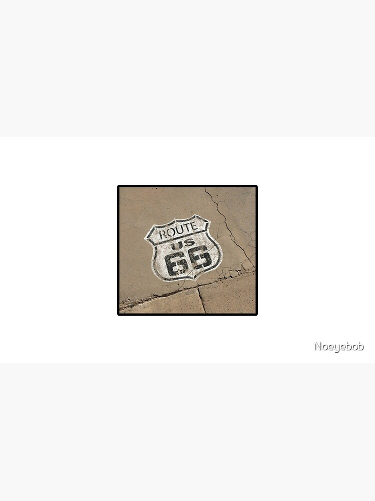 ROUTE 66 DESIGN- SHIELD by Noeyebob