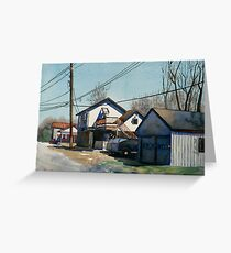 House on the Corner Greeting Card