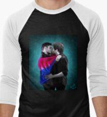 Bisexual Pride Destiel Men's Baseball ¾ T-Shirt