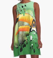 toucan A-Line Dress