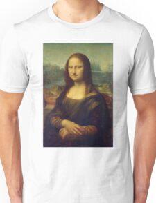 The Mona Lisa By Leonardo Da Vinci Unisex T-Shirt