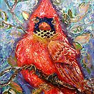 Cardinal of Regal Disposition, by Alma Lee by Alma Lee