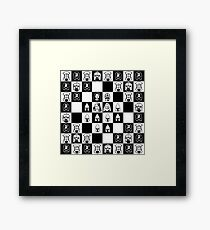 Lord of the chess Framed Print
