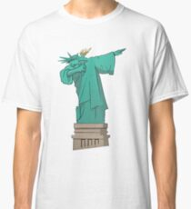 DAB New York Liberty Statue of Liberty Classic T-Shirt