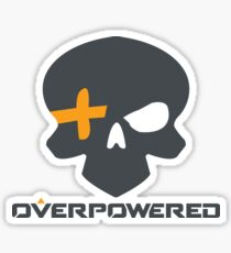 Overpowered Mccree High Noon Sticker