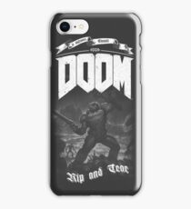 DOOM PC iPhone Case/Skin