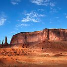 Three Sisters, Monument Valley, Arizona. by Jonathan Maddock