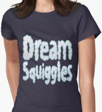 Dream Squiggles Womens Fitted T-Shirt
