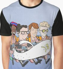 Ghostbusters: Atlantic Magazine Cover Graphic T-Shirt