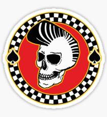 Rockin' Skull - colour Sticker