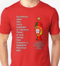 Portugal Euro 2016 Champions Final Squad T-Shirt