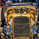 Golden Ford Roadster by Bobby Deal