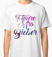 Future Mrs Bieber - Justin Bieber  Classic T-Shirt