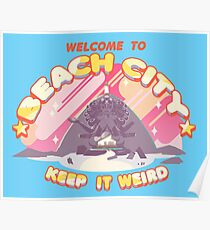 Welcome to Beach City Poster