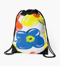 A Pattern of Floral Drawstring Bag