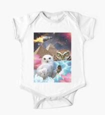 I Dream of Space Owls One Piece - Short Sleeve