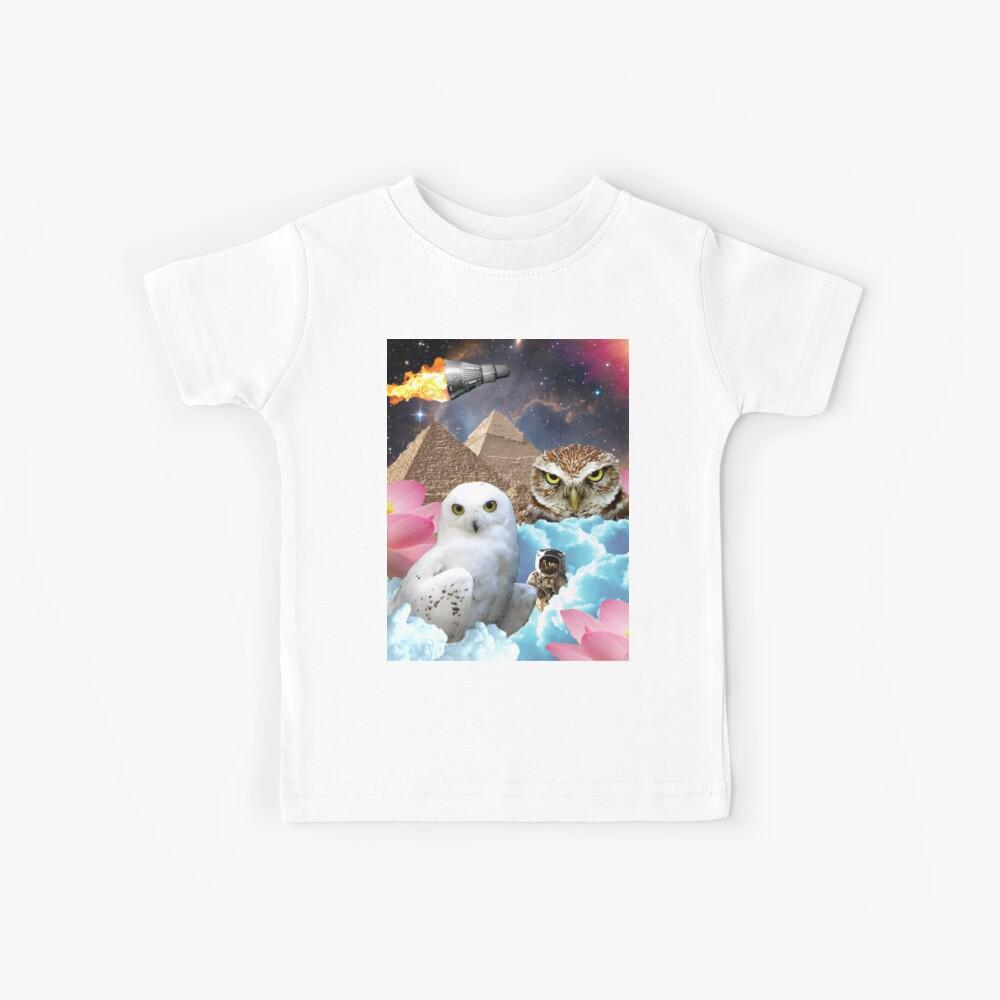 I Dream of Space Owls Kinder T-Shirt