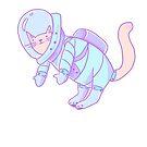 Space Cat! by vinylah