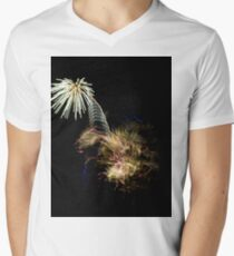 Fireworks Variation # 6 Men's V-Neck T-Shirt
