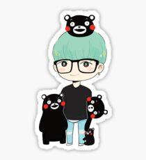 Suga x Kumamon Sticker