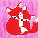 cute foxes !!! by luckylittle