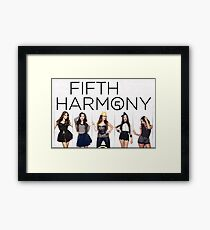 Fifth Harmony 5TAC Framed Print