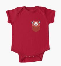Pocket Jibanyan One Piece - Short Sleeve