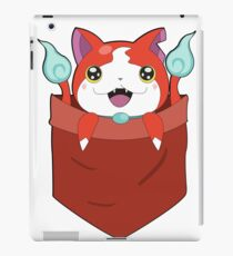 Pocket Jibanyan iPad Case/Skin