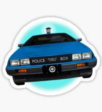 Back to the TARDIS Sticker