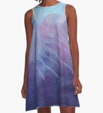 Splatter Water Color A-Line Dress