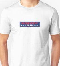 No One 2016. Unisex T-Shirt